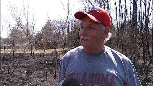 Firefighters Eye Hot Spots After Wildfire Destroys Homes In Cleveland, Oklahoma