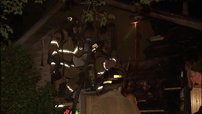 No Injuries In Early Monday Morning Tulsa House Fire