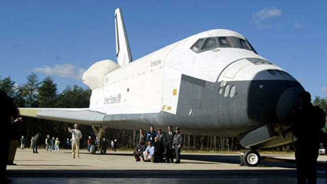 NASA: Tulsa Misses Out On Landing A Space Shuttle