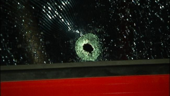 Tulsa Driver Not Injured When Robber Shoots At Pickup Truck