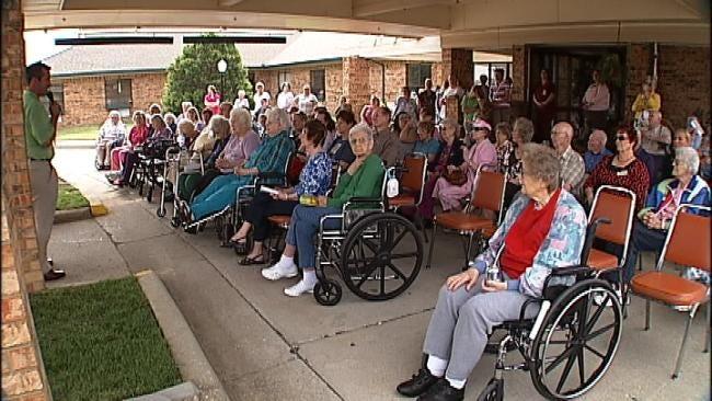 Oklahoma Senior Citizens, Advocates Fight State Medicaid Cuts