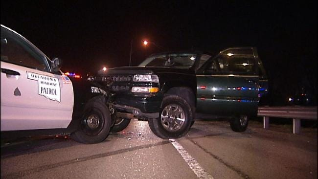 2 Arrested After High Speed Chase Through Tulsa County
