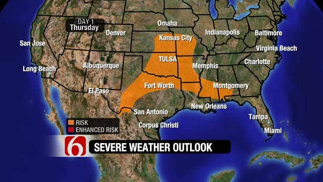 Rain And More Rain In Forecast For Eastern Oklahoma