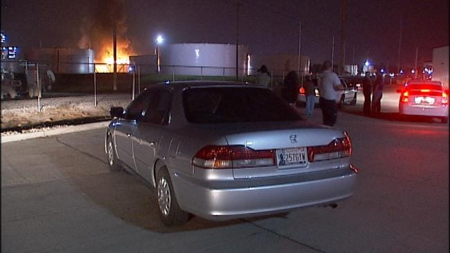 Lightning May Have Sparked West Tulsa Refinery Fire