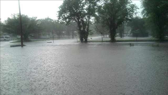 Heavy Rains Drench Parts Of Eastern Oklahoma