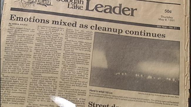 Oologah Residents Remember Devastating Tornado 20 Years Later