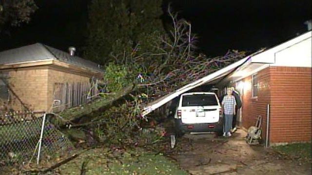 Cleanup Begins After Storms Batter Tulsa Area