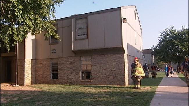 Families Displaced In West Tulsa Apartment Fire