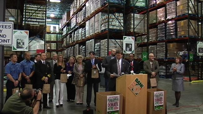 City Of Tulsa Food Drive To Benefit Food Bank
