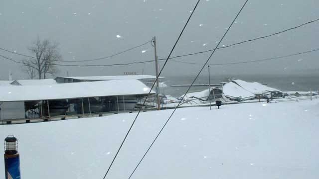 Boats Damaged As Docks Collapse At Grand Lake