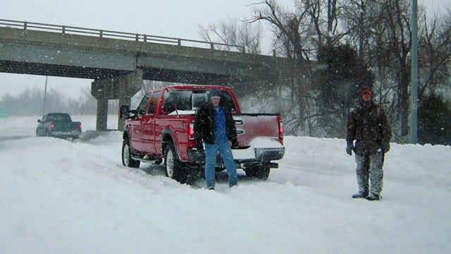Northeast Oklahoma Under A Blizzard Warning
