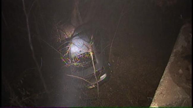 Dense Fog Blamed For At Least One Tulsa County Crash Wednesday