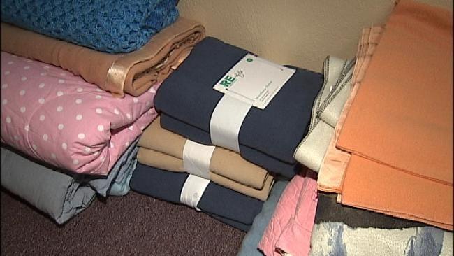 Blankets Needed To Help Keep Tulsans Warm