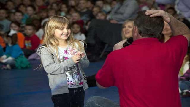 Trav's Wild Weather Camp Heads To Lone Star Elementary