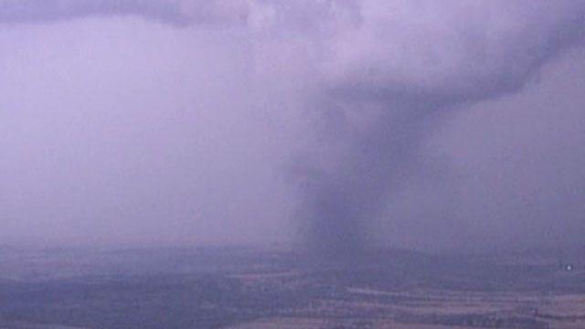 SkyNews6 Spots Tornado Touchdowns Near Oklahoma-Kansas State Line