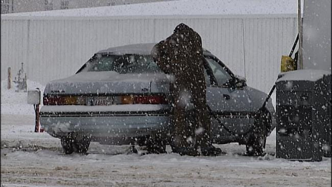 Second Round Of Snow Blankets Green Country