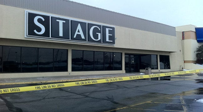 Roof Partially Collapses At Broken Arrow Stage Store
