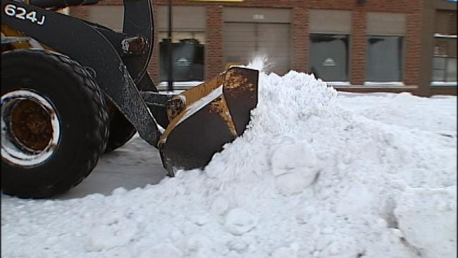 Tulsa County Combines Resources To Dig Out From Winter Storm