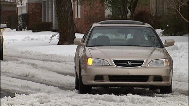 City Of Tulsa Snow Plows Target More Neighborhood Streets