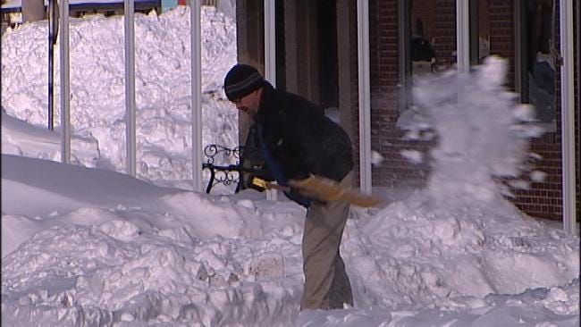 NE Oklahoma Residents 'Sick And Tired' Of Snow