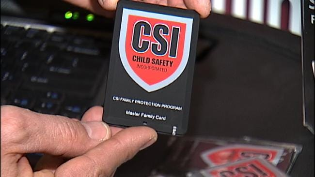 Bixby Company Creates High-Tech Card To Combat Child Trafficking