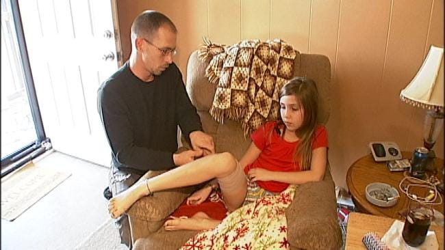 Tulsa Family Outraged After Dog Attacks 9-Year-Old Girl