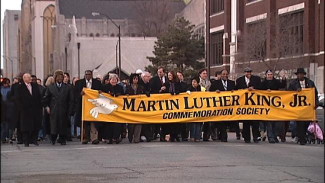 Parade, Peace Walk All Part Of Martin Luther King, Jr. Day In Tulsa