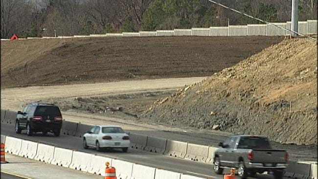 New I-44 Widening Project Underway In Tulsa