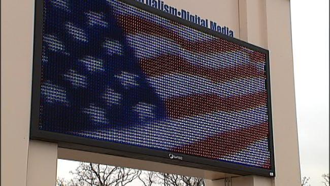 Four Tulsa High School Marquees Go High Tech