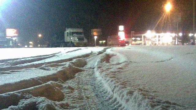 Northeast Oklahoma Struggles Under Blanket Of Snow