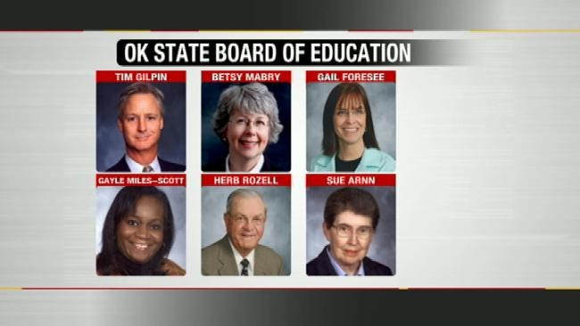 New Oklahoma Superintendent's First Board Meeting Erupts In Fireworks