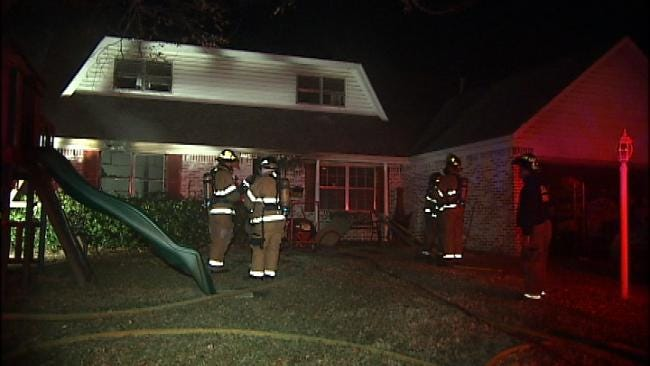 Residents Come Home To Tulsa House Fire