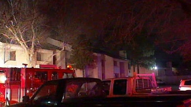 Fire Damages Units At Tulsa Apartment Complex