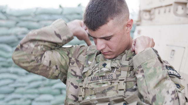 Oklahoma Guardsman Experiences First Deployment In Afghanistan