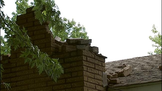 Lightning Strike Gives Broken Arrow Homeowner Rude Awakening