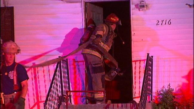 Thursday Evening Tulsa House Fire Cause Under Investigation
