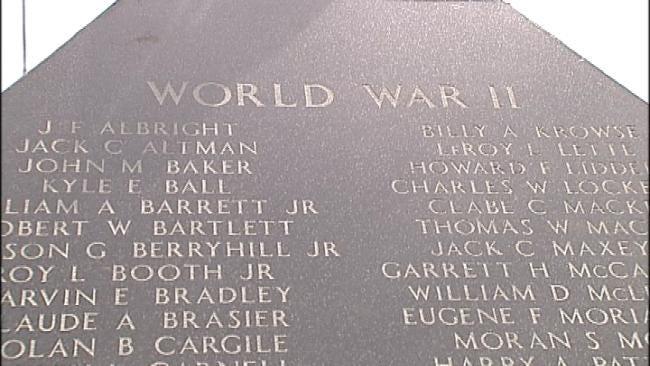 Memorial Honors Fallen Veterans Of Oklahoma Military Academy