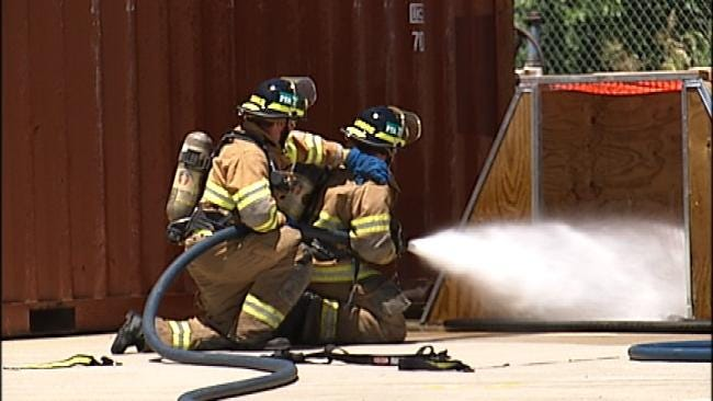 Largest Class Of Tulsa Firefighters Train To Serve