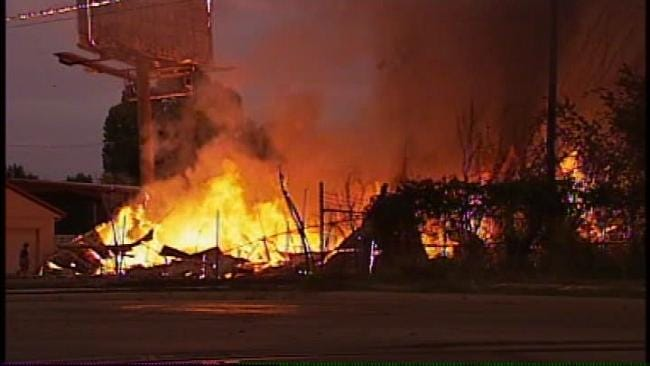 Meth Lab Remnants Found At Scene Of North Tulsa Building Fire