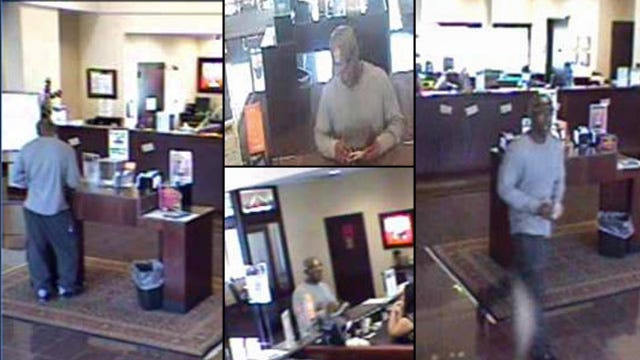 Tulsa Police Release Photos To Help Catch Bank Robber