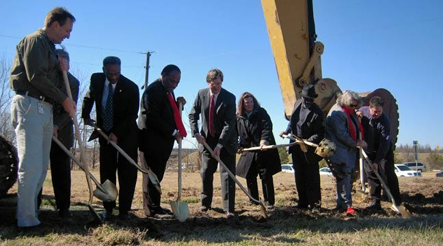 Ground Broken For Tulsa Soccer Complex