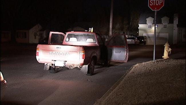 Driver Arrested After Tulsa Police Find Meth Lab In Truck