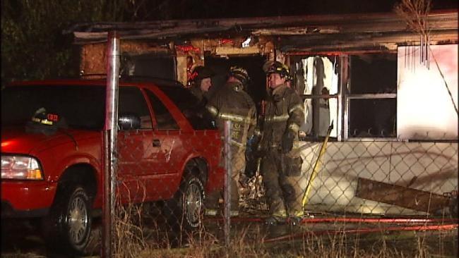 Firefighters Investigate Suspicious Fire At North Tulsa Home