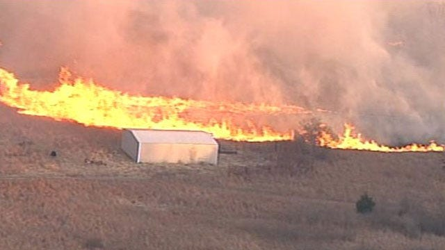 Burn Bans In Effect Across Oklahoma Ahead Of Increased Wildfire Threat