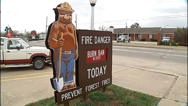 Exhausted Oklahoma Firefighters Warn Of Severe Wildfire Risk