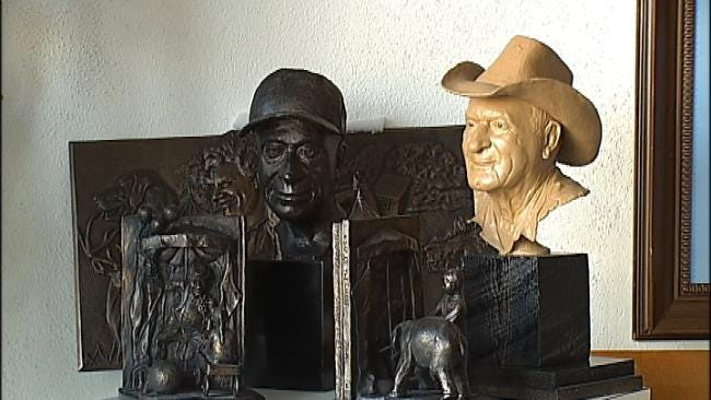 Oklahoma's Own: Perry Man Finds New Calling In Sculpture