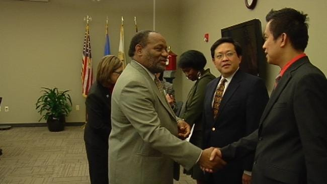 Tulsa's Sister City Honors City Councilor