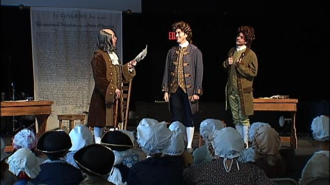 Oklahoma Students Relive American History Through 'Revolutionary Day'