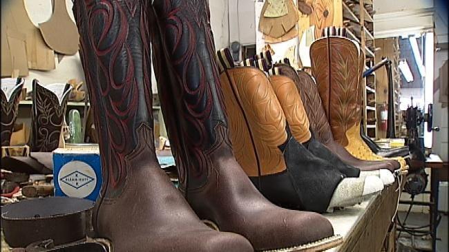 Oklahoma's Own: Beggs Man Custom Makes World Famous Cowboy Boots