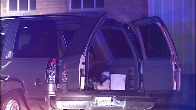 Tulsa Police Find Shooting Victim In SUV